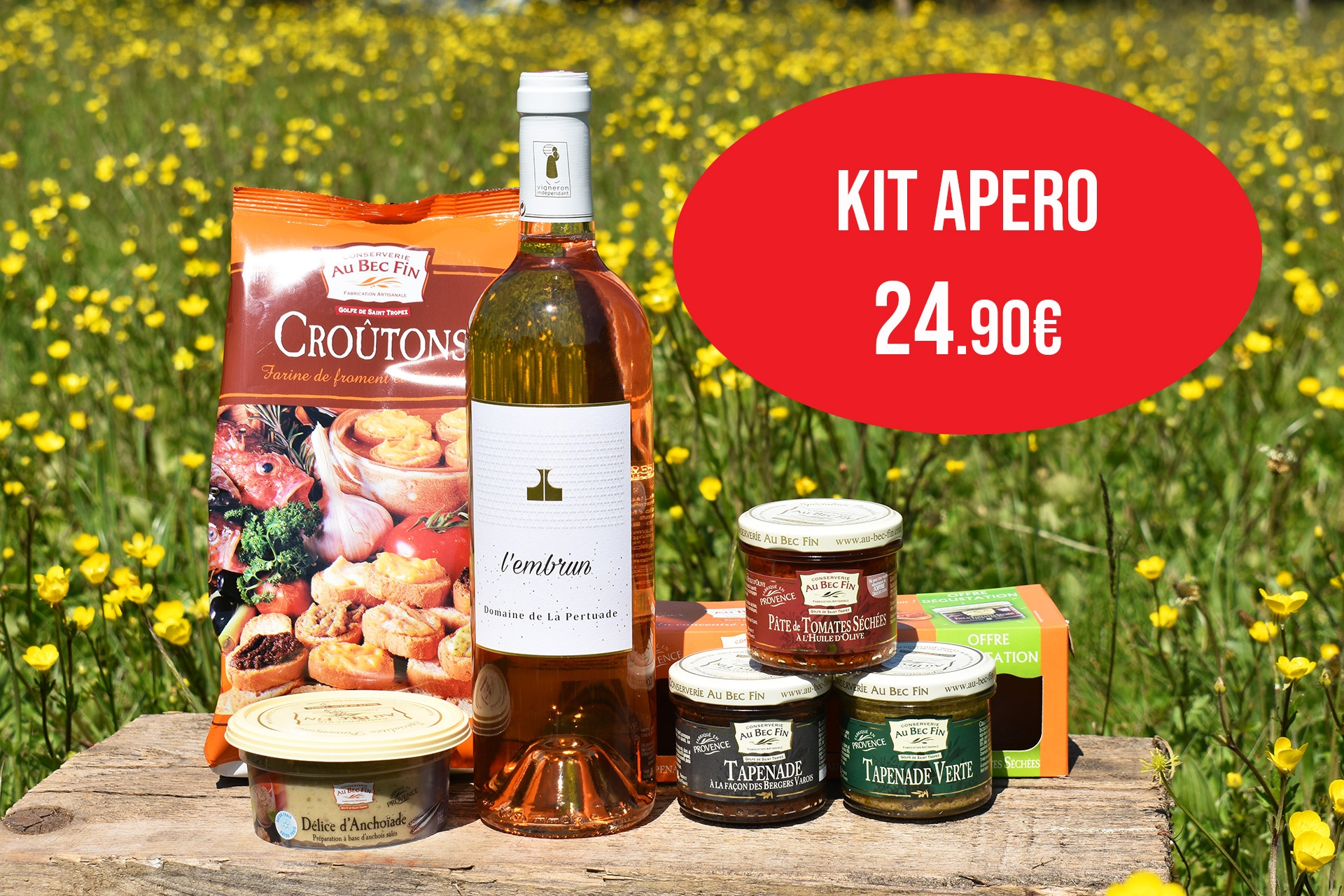 Tapenade & Tartinables