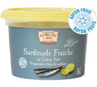 Sardinade fraîche au citron vert Préparation à base de sardines