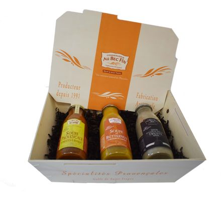 Coffret soupes gourmandes