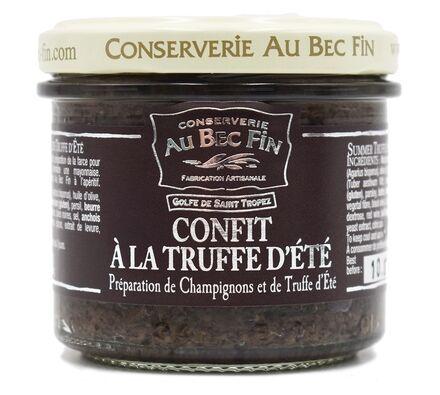 Confit à la Truffe d'Eté préparation à base de champignons et de truffes d'été