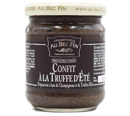 Confit à la Truffe d'été préparation à base de champignons et de truffes d'été