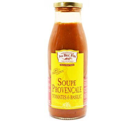 Soupe Provençale Tomates et Basilic