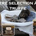 Sélection de produits à la truffe