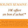 SOLDES Semaine 4
