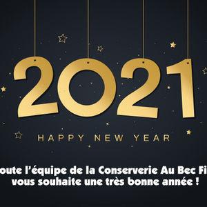 Nous vous souhaitons une bonne année 2021 !